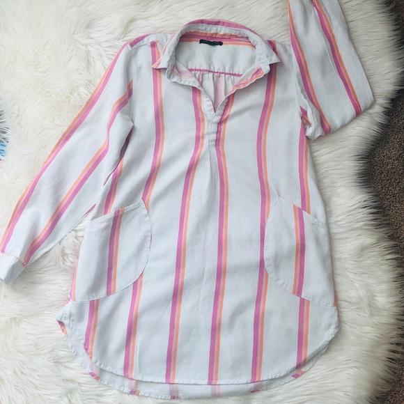 Striped tunic